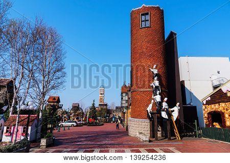 Chocolate Factory Theme Park, Sappoto