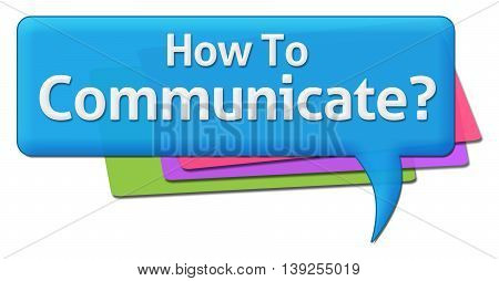 How to communicate text written over blue colorful background.