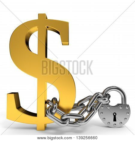 Finance Security Concept.