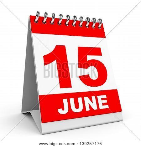 Calendar. 15 June.