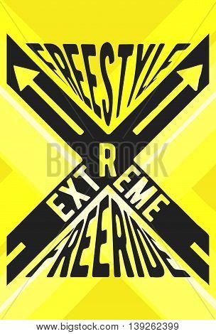 Extreme Sport Stamp