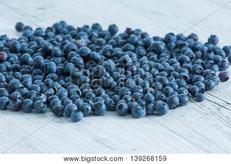 Blueberry antioxidant organic superfood, fresh blueberries background