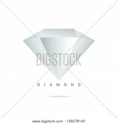 Diamond Luxury Treasure Icon Color Illustration