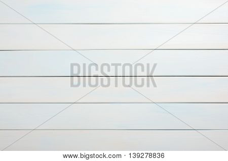 White and azure wooden horizontal surface as a background