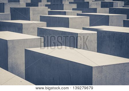 Holocaust Memorial / Jewish Memorial In Berlin