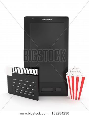 3D Smart Phone - Entertainment Concept