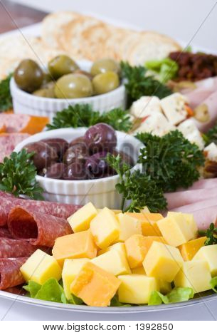 Plato de Antipasto Catering