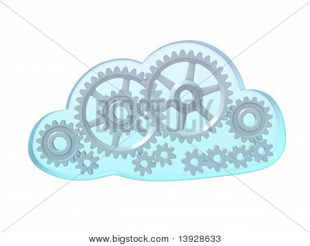 Computing Cloud With Gears