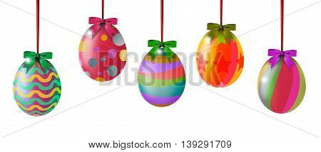 easter egg colorful hinging for you design