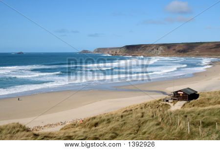 The Beach At Sennen Cove, Cornwall