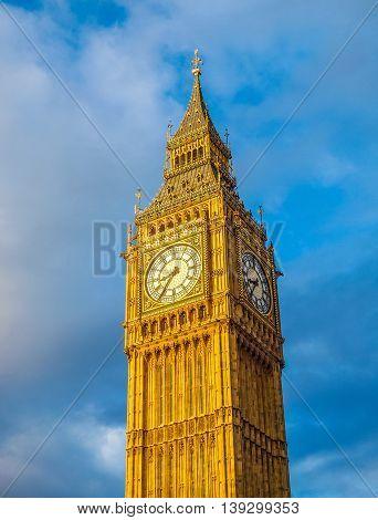 Big Ben London Hdr