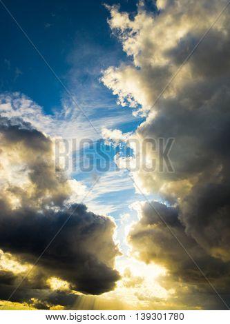 Spectacular Cloudscape Light and Dark