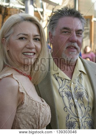 Bruce McGill at the Los Angeles premiere of 'Cinderella Man' held at the Gibson Amphitheatre at Universal City in Hollywood, USA on May 23, 2005.