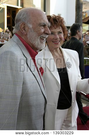 Marion Ross and Paul Michael at the Los Angeles premiere of 'Cinderella Man' held at the Gibson Amphitheatre at Universal City in Hollywood, USA on May 23, 2005.