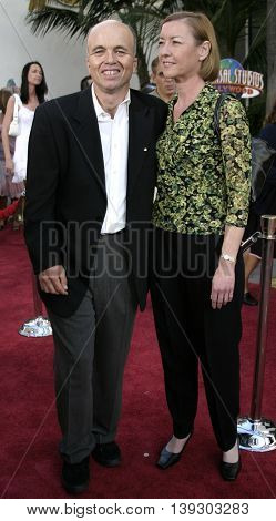 Clint Howard and Melanie at the Los Angeles premiere of 'Cinderella Man' held at the Gibson Amphitheatre at Universal City in Hollywood, USA on May 23, 2005.