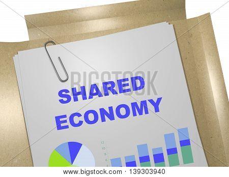 Shared Economy Concept