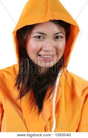 Raincoat Girl