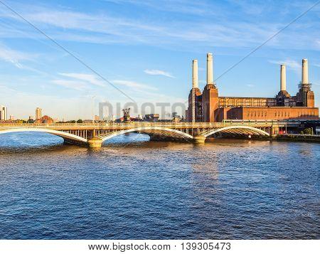 Battersea Powerstation London Hdr