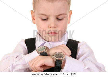 Boy With Clocks