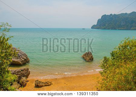 Peninsula Of Railay. Krabi, Thailand.