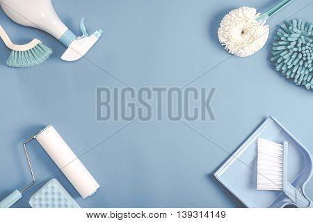 Cleaning Tools Layout