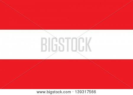 Vector Republic of Austria flag
