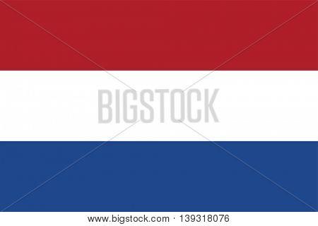 Vector Netherlands flag