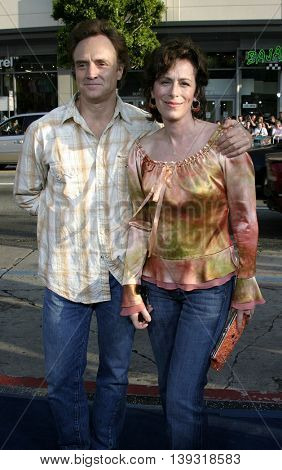 Bradley Whitford and wife Jane Kaczmarek at the Los Angeles premiere of 'Sisterhood of the Traveling Pants' heldat the Grauman's Chinese Theatre in Hollywood, USA on May 31, 2005.