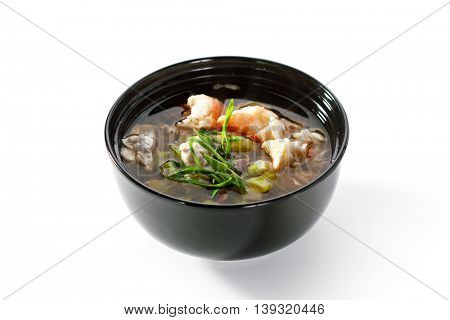 Japanese Style Crab and Egg Soup