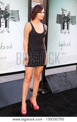 LOS ANGELES - JUL 19:  Scout Taylor-Compton at the