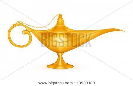 Oil lamp, mesh