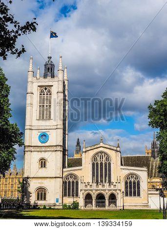 St Margaret Church In London Hdr