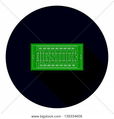 American Football Field Mark Icon