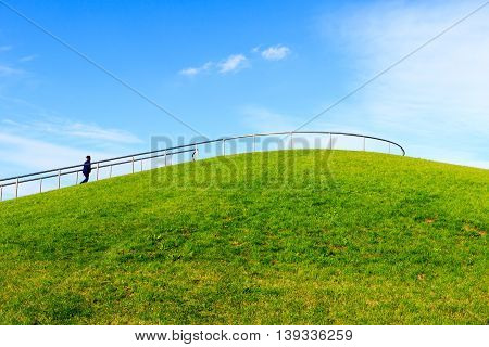 Stave Hill In London, Uk