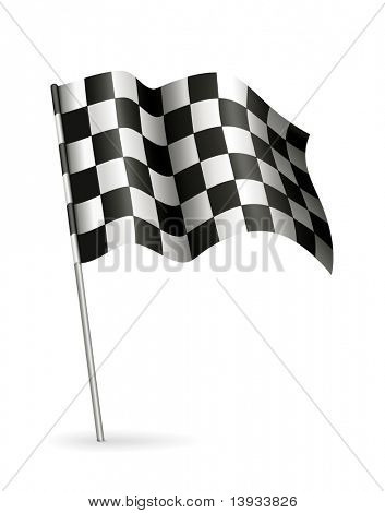 Racing Flag, vector