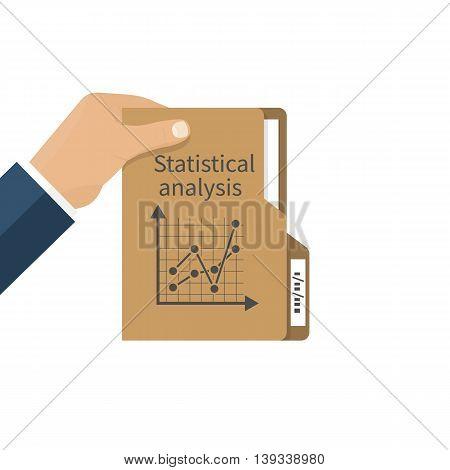 Businessman Holding Folder