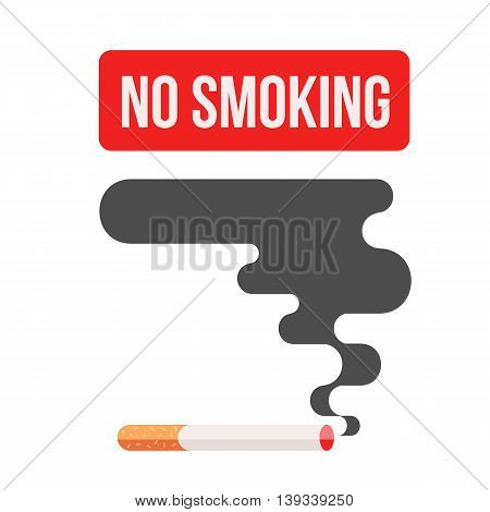 Icons about smoking, illustration flat, dangers of smoking. health problems due to smoking, nicotine dangerous smoke. danger to life and limb due to nicotine