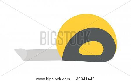 Ruler tool flat icon