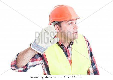 Builder Listening On Private Conversation