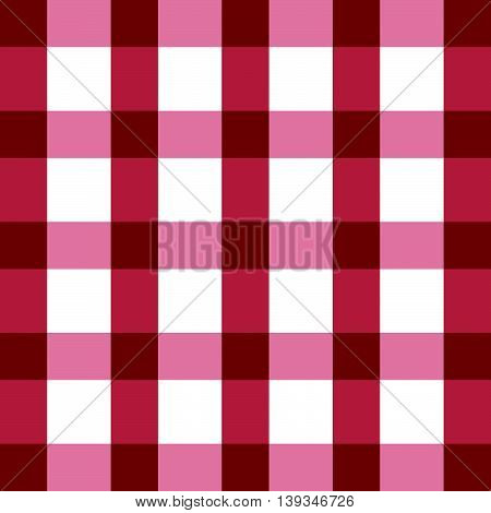 Tablecloth Red In Color Cotton Classic Illustration