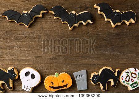 Group Of Cookies For Halloween