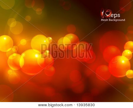 Abstract spotty background Mesh, eps10