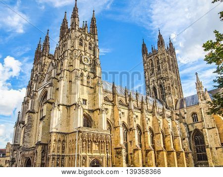 Canterbury Cathedral Hdr