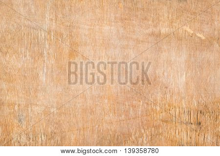 Crack surface of old wood wall for background and texture