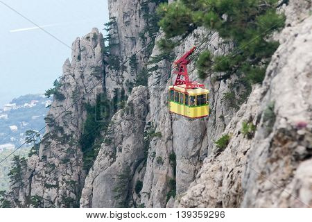 The Cable Car In Crimea Ai-petri