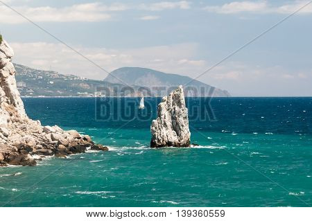 Beautiful View Of The Southern Coast In Crimea