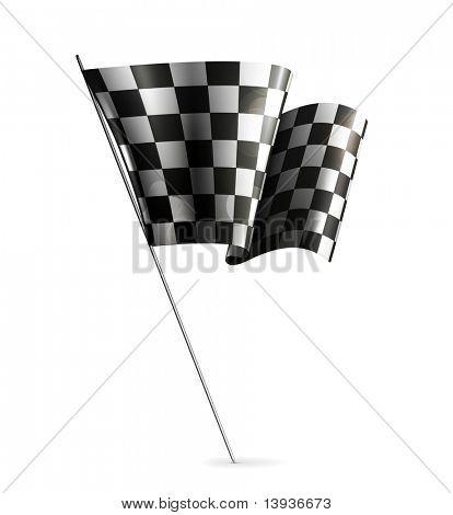 Checkered Flag, eps10