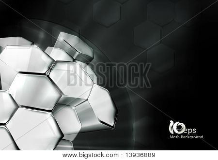 Science Background Black, 10eps