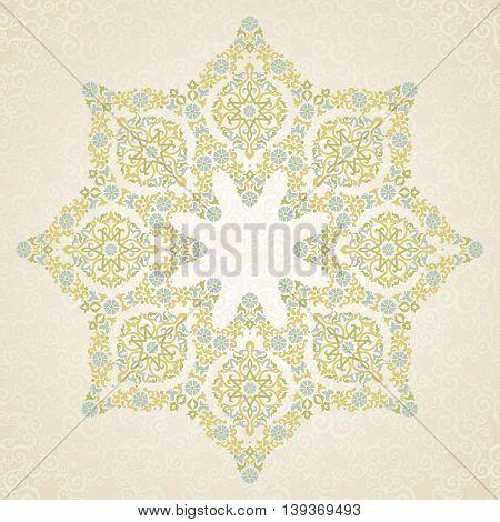 Vector Pattern In Eastern Style.