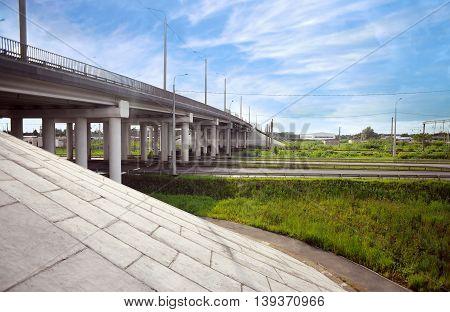 Detail Of Highway Bridge